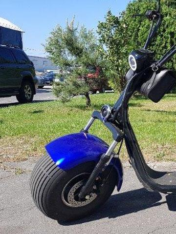 "Elektrický Chopper® Blue 40km/h Model: ""LT-019"""