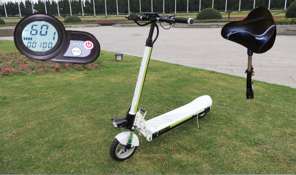 "Electric Scooter GOGO K33 Lith. Bat. 42km/h 110km Model: ""H18"""
