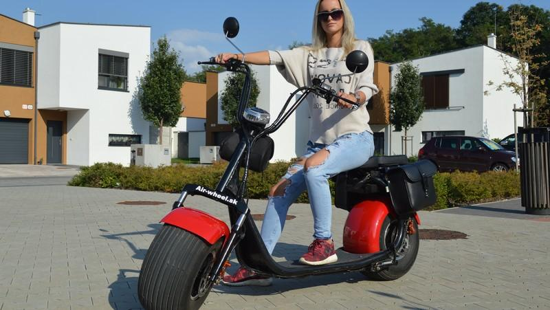 Scooter Electric HARLEY 2 Lith. Bat. 40km/h 80km