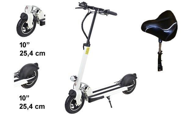 "Electric Scooter S32 10"" Lith. Bat. 25km/h 170km Model: ""S2"""
