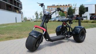 "Elektrický Chopper® 65  60V tricycle30km/h 200km Model: ""ML-SC09"""