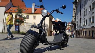 "Elektrický Chopper® 92 Model:""X1"" change battery  50km/h  266km"