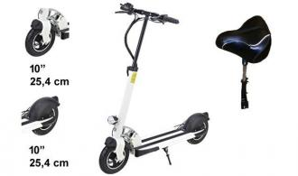 "Electric Scooter S11 10"" Lith. Bat. 15km/h 90km Model: ""S2"""