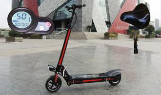 "Electric Scooter GOGO K22 Lith. Bat. 25km/h 110km Model: ""H18"""