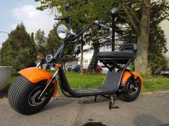 "Elektrický HARLEY 81 Model:""X1"" change battery  50km/h  100km"